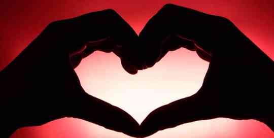 I Am RED - Hands Heart